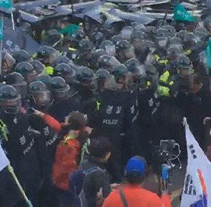 Беспорядки в Сеуле