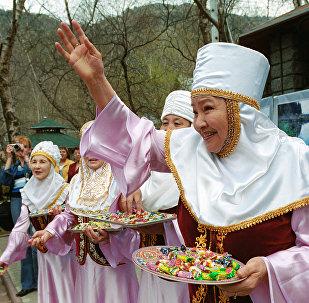 Казахские обычаи и традиции