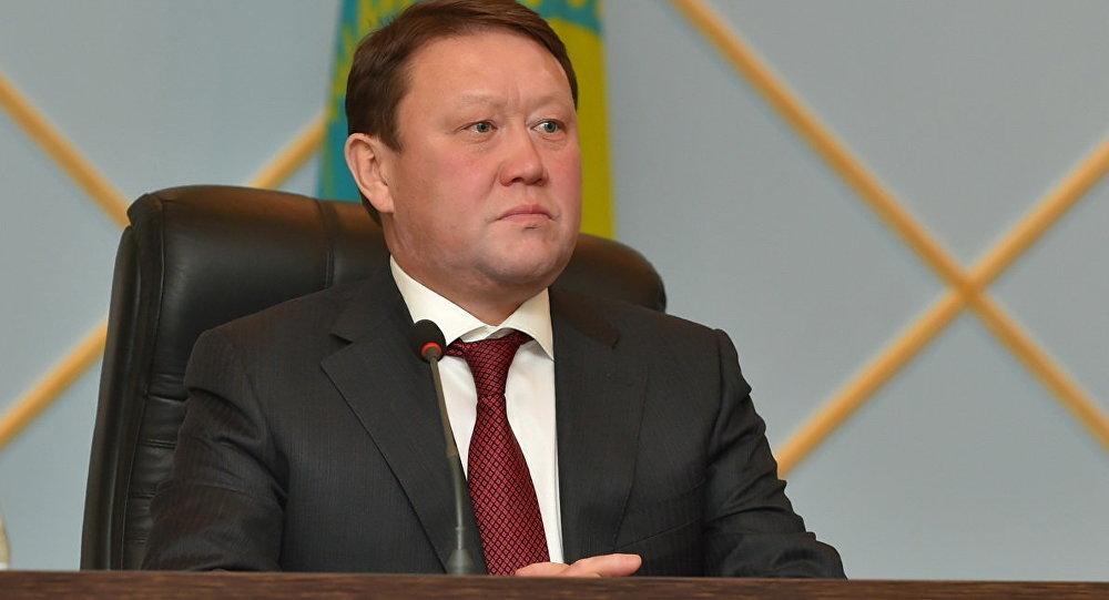 Солтүстік Қазақстан облысының әкімі Құмар Ақсақалов