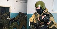 Архивное фото антитеррористических учений