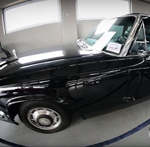 Чудо советского автопрома: ЗИЛ-115 хранится в Тбилиси