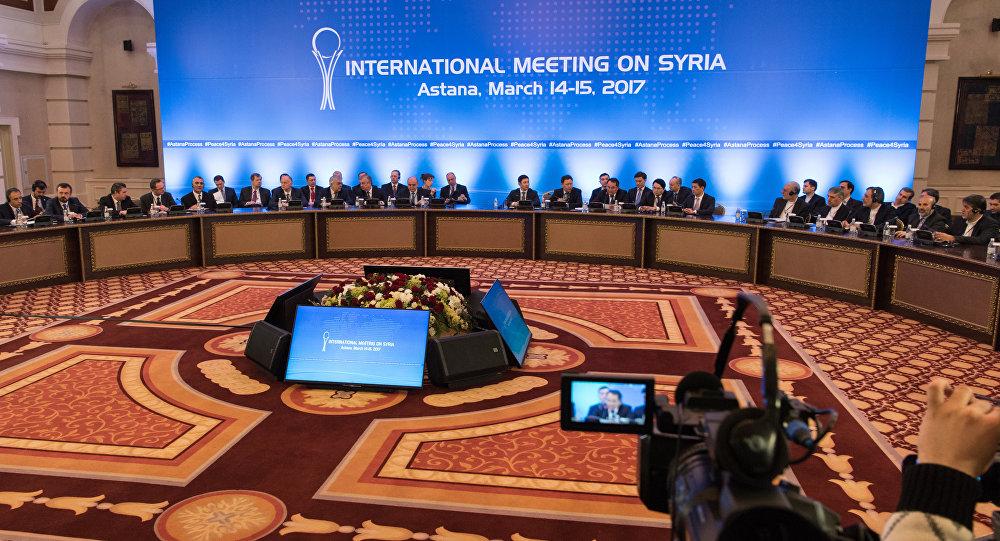 Сирийские переговоры в Астане
