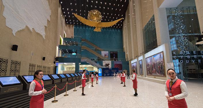 В Астане прошло официальное открытие историко-документальной выставки Казахстан и Россия: стратегия вечной дружбы, посвященной 25-летию установления дипломатических отношений между двумя странами
