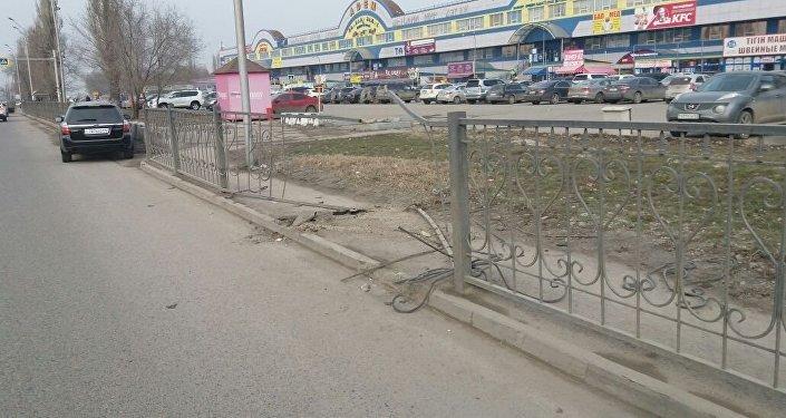 ДТП на Северном кольце в Алматы