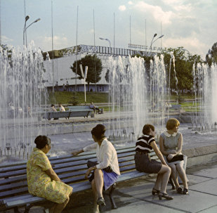 Площадь Абая в Алма-Ате