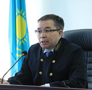Председательствующий на процессе по делу Аблязова судья Мартпек Какимжанов