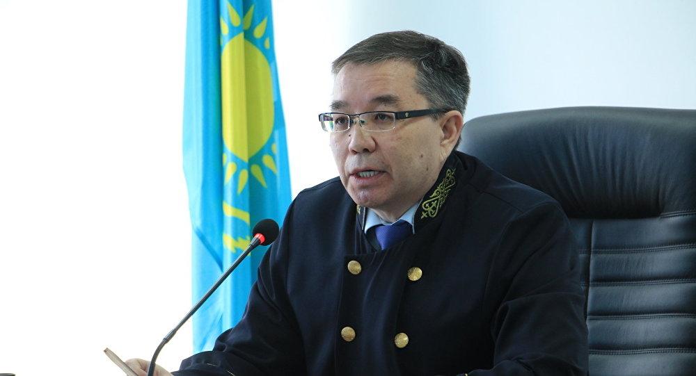 судья Мәртбек Кәкімжанов
