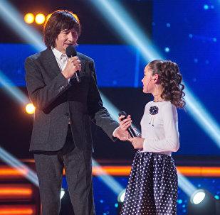 Байгали Серкебаев и Рано Сабанкулова на проекте Ты супер!