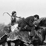 Жители Алма-аты участвуют в казахской национальной игре