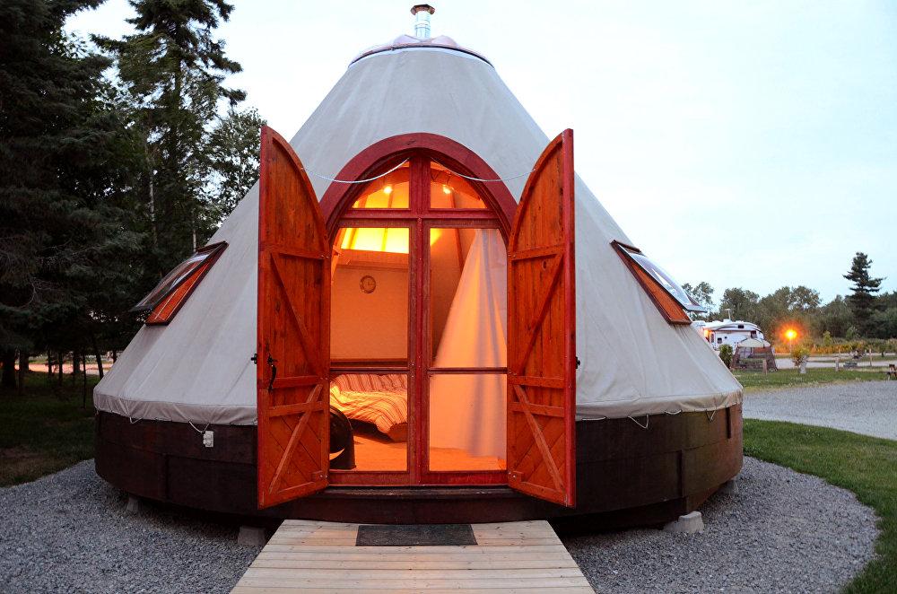 Дом для туристов в Канаде