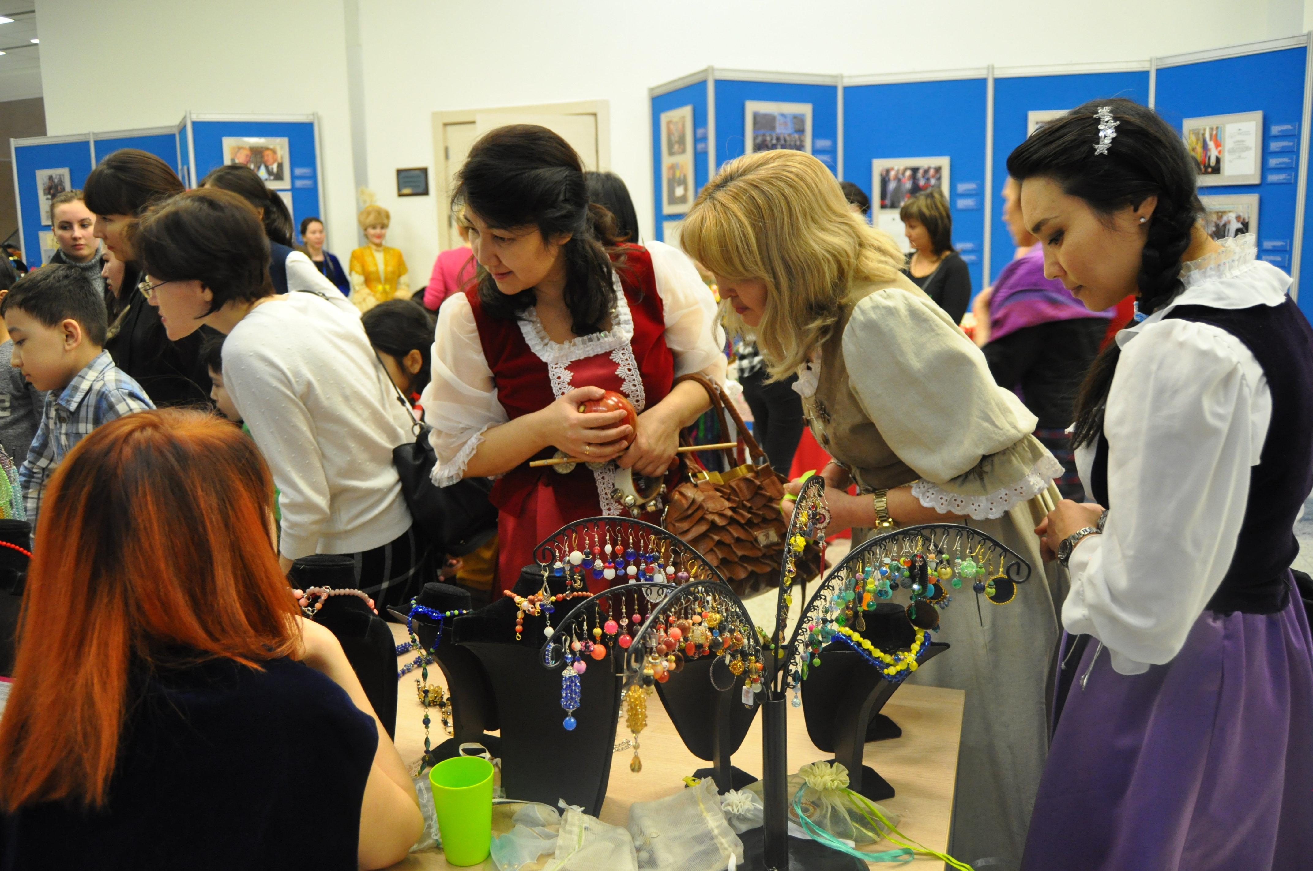 Ярмарка в рамках проведения акции Ночь в музее