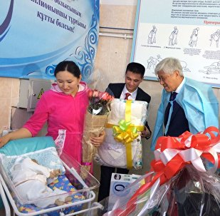 Двухмиллионный ребенок родился в Алматинской области