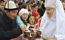 Алматыдағы Наурыз, архивтегі фото