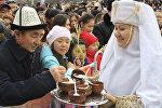 Празднование Наурыза, архивное фото