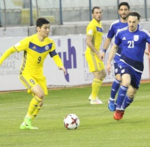 Матч Казахстан - Кипр: 1:3