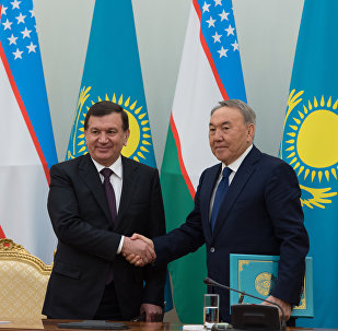 Первый визит Шавката Мирзиеева в Казахстан