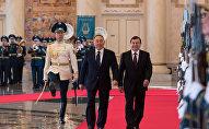 Первый визит президента Узбекистана Шавката Мирзиеева в Казахстан