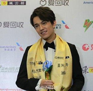 Димаш Кудайбергенов получил музыкальную премию Top Chinese Music Awards