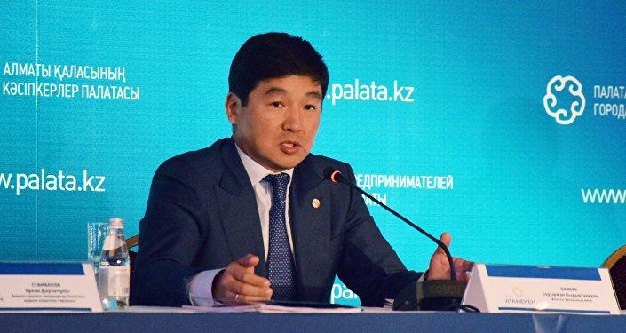 Алматы әкімі Бауыржан Байбек