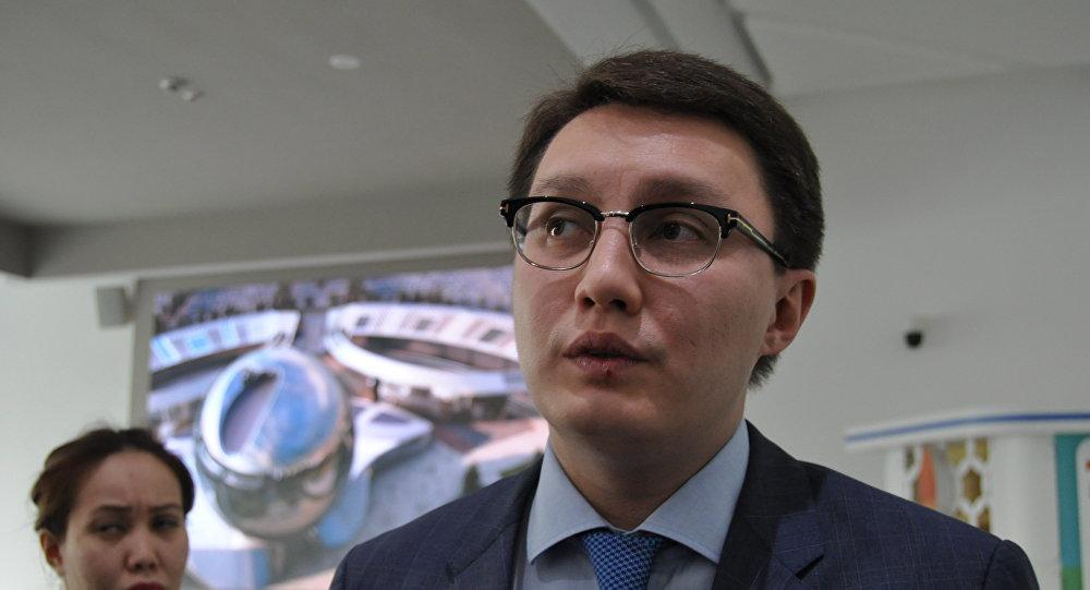 Директор департамента коммерциализации национальной компании Астана ЭКСПО–2017 Даулет Еркимбаев