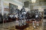 В Рыцарском зале Эрмитажа