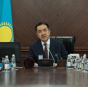 Премьер-Министр РК Бакытжан Сагинтаев