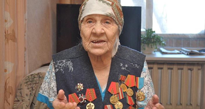 ветеран Нафися Агишева