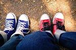 Архивное фото обуви