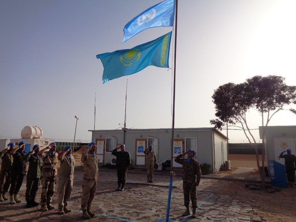 Батыс Сахарадағы БҰҰ-ның миссиясы Асқар Қожагалиев