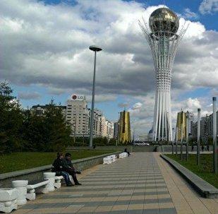 Астана, Байтерек - рекадр