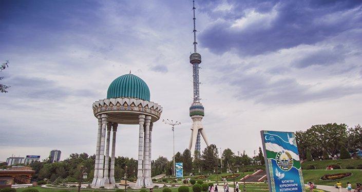 Архивное фото вида Ташкента