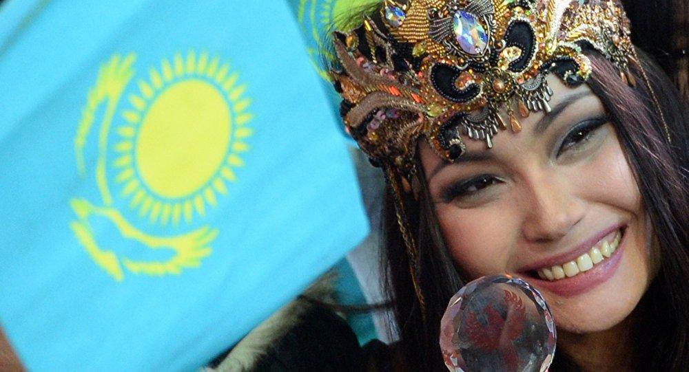 Жанар Дугалова на конкурсе TURKVIZION