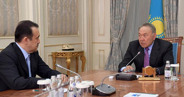 Нурсултан Назарбаев встретился с председателем КНБ Каримом Масимовым
