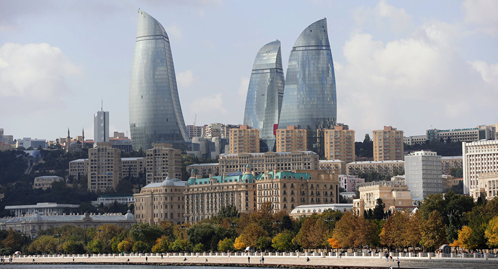 Архивное фото Баку
