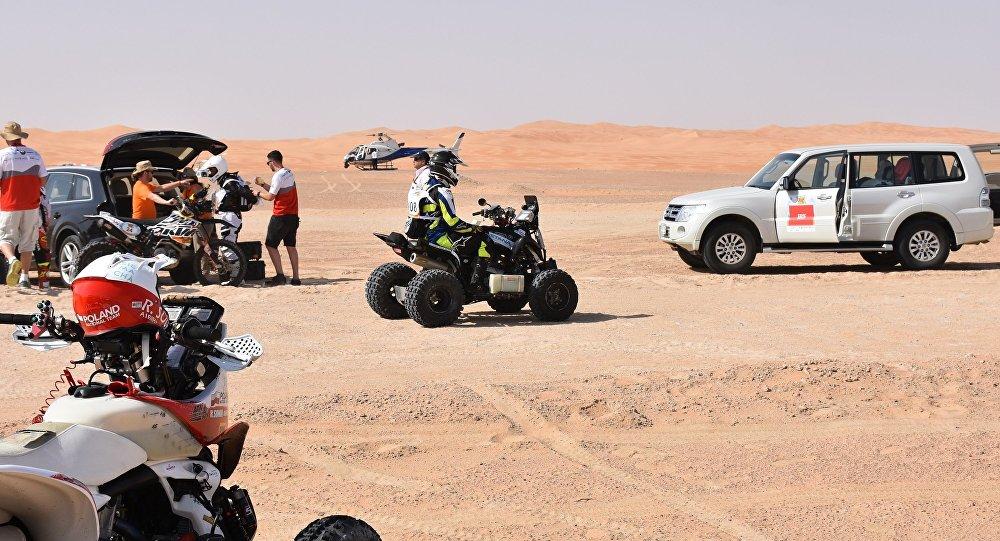 Казахстанские квадроциклы на ралли-рейде Abu Dhabi Desert Challenge