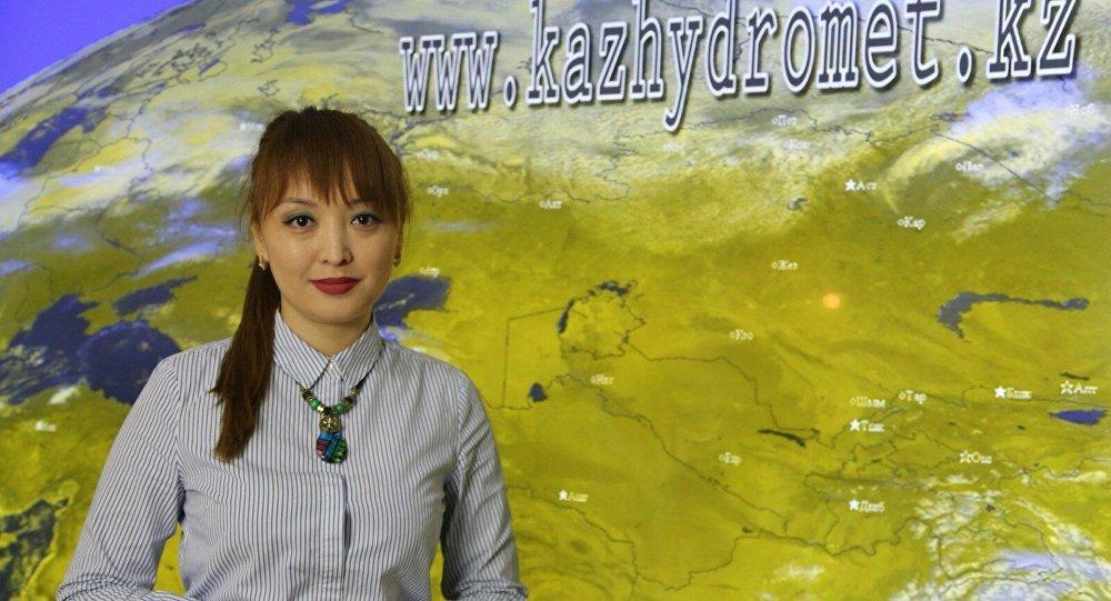 ведущий инженер-синоптик РГП Казгидромет  Зайна Кульжабаева