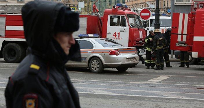 Санкт-Петербургтегі жарылыс