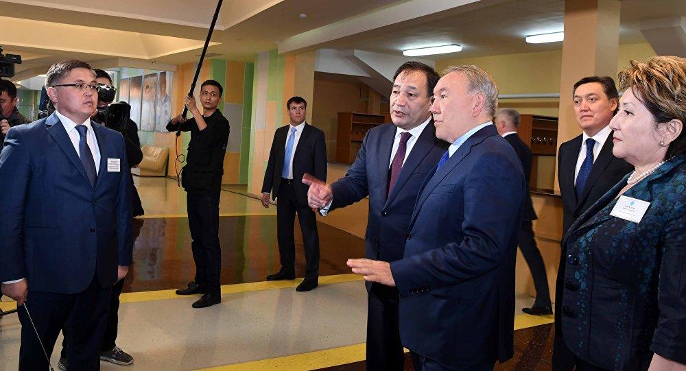 Нурсултан Назарбаев с рабочим визитом в Мангистауской области