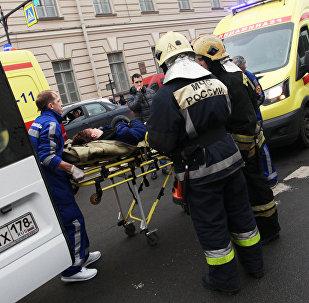 Петербургтегі теракт