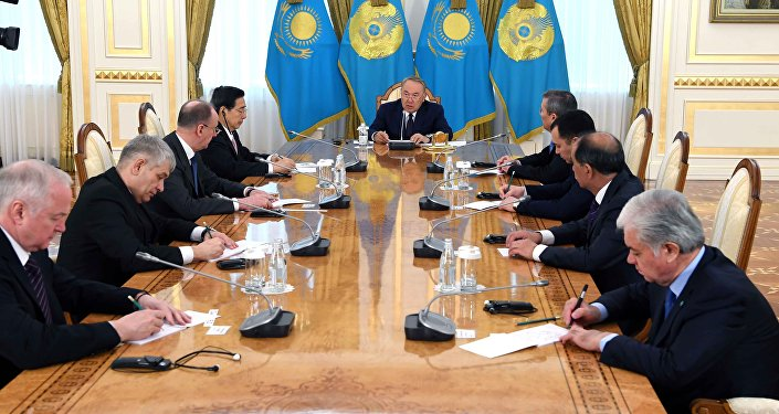 Глава Казахстана встретился с руководителями делегаций, прибывших в Астану на 12-ю Встречу секретарей советов безопасности стран ШОС