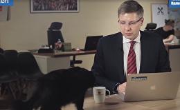 Нил Ушаков и кот