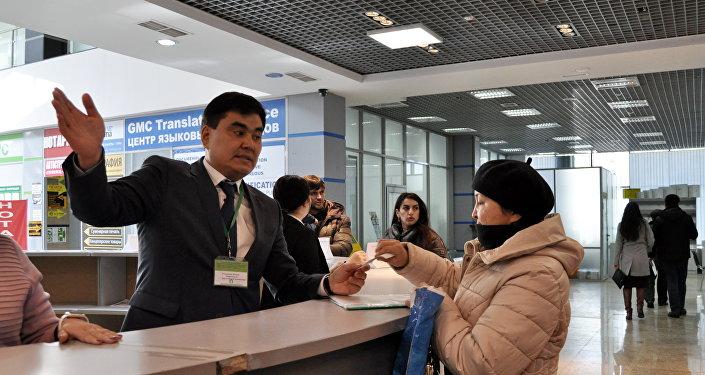Заместитель директора дирекции оказания госуслуг Шокан Абдильманов