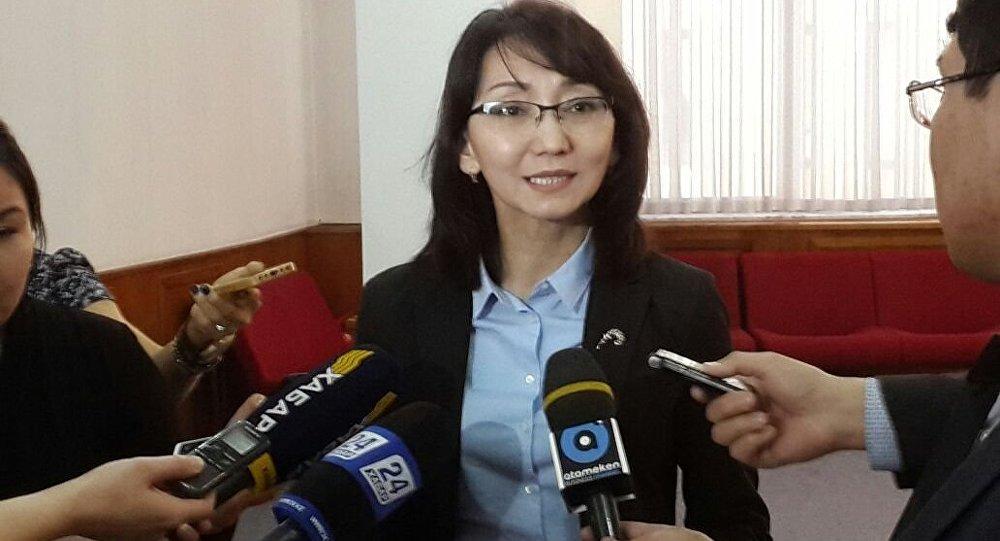 Руководитель управления по взаимодействию с институтами гражданского общества министерства религии и гражданского общества РК Гульбара Султанова