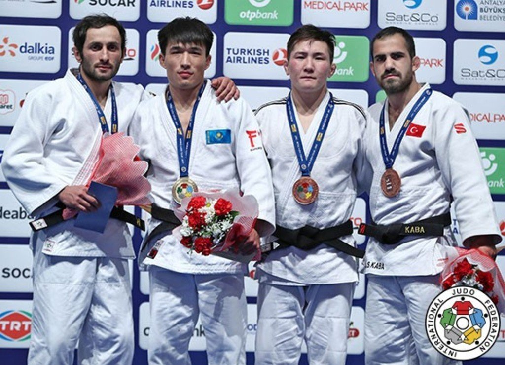 Золото на турнире Grand Prix в Анталии