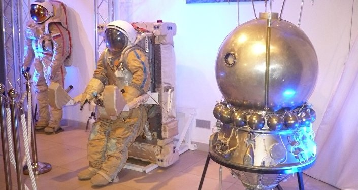 Выставка ко Дню космонавтики в Калининграде