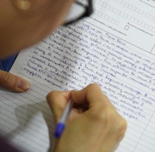 Освежить правила русской грамматики казахстанцам помог Тотальный диктант