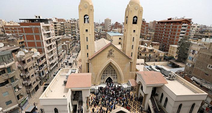 ВЕгипте задень вцеркви совершили 2-ой взрыв