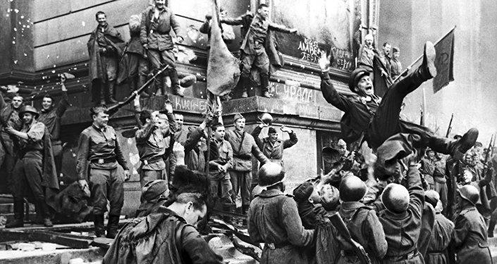 Кадр из художественного фильма Битва за Берлин