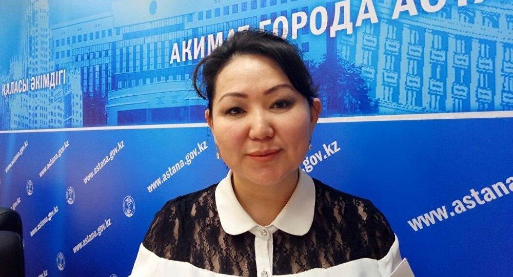 Астана білім беру басқарамасының мектеп алды білім беру және оқыту бөлімі басшысы Анар Смақова.