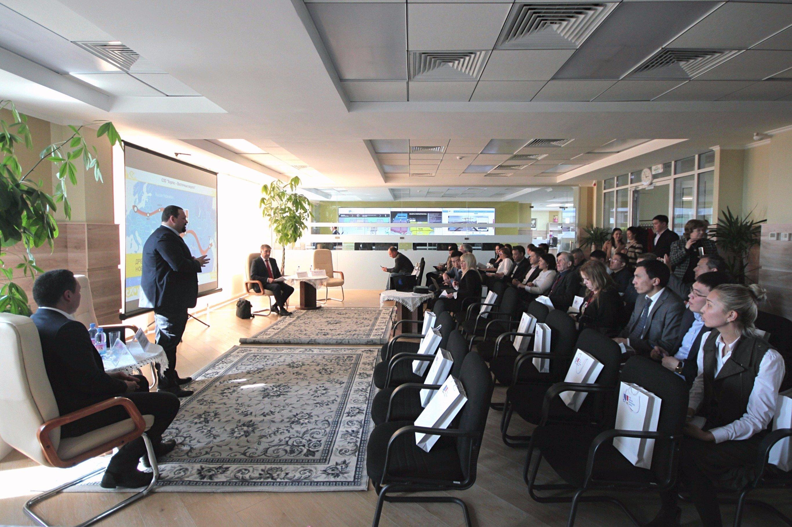 Презентация возможностей СЭЗ Хоргос - Восточные ворота бизнес-делегации Латвии
